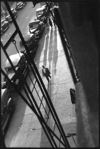 David Vestal, 'From Eva Konikoff's Window, West 22nd St., New York', 1949