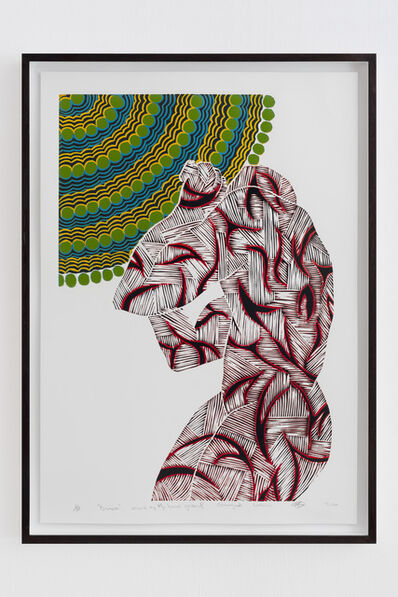 Sthenjwa Luthuli, 'Stretch Mark of my Background', 2014