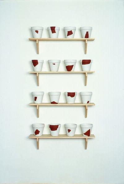 Timm Ulrichs, 'Rekonstruktionen (resconstructions)', 1988