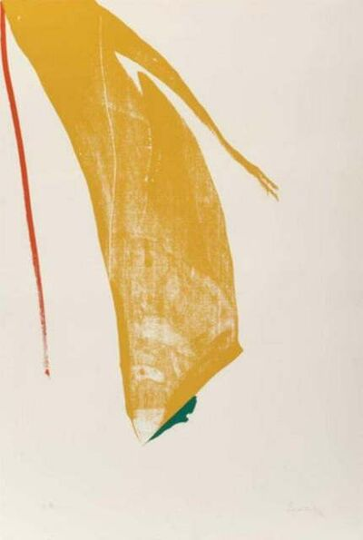 Helen Frankenthaler, 'Untitled from ''What red lines can do''', 1970