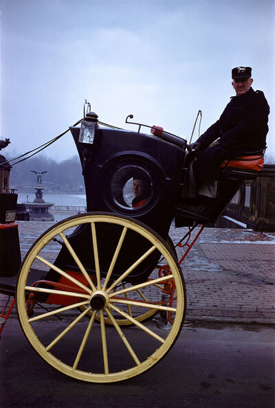 Inge Morath, 'Carriage in central Park, New York,', 1958