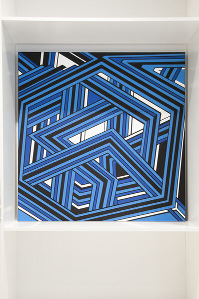 Alex Dorici, 'Geometric Blue Line', 2020