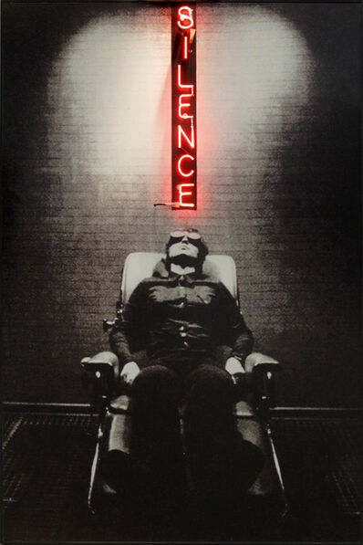 Peter Klasen, 'Silence', 2001
