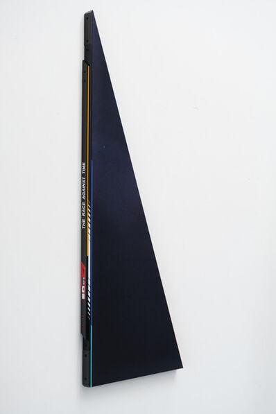 Ben Edmunds, 'The race against time (night blue)', 2019
