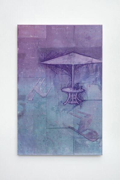 Michael Raedecker, 'species', 2018