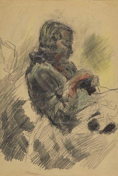 Mario Sironi, 'Donna che cuce', c. 1938