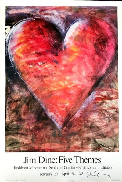 Jim Dine, 'Jim Dine: Five Themes (Hand Signed)', 1985