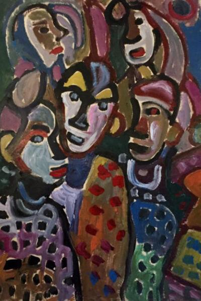 Miklós Németh, 'Clowns', 1983