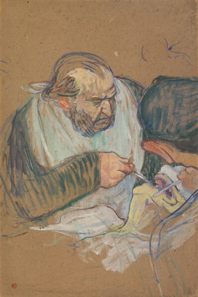 Henri de Toulouse-Lautrec, 'Dr. Péan Operating', 1891-1892