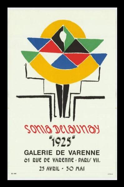 Sonia Delaunay, 'La Danseuse', 1974