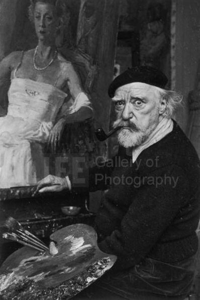 Alfred Eisenstaedt, 'Augustus John, Hampshire, England', 1951