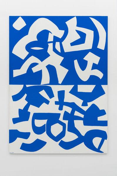 Carla Accardi, 'Ricomposte tinte ', 1997
