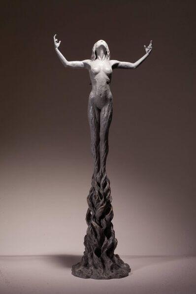 Ian Edwards, 'Born within Fire - Original Signed Bronze Sculpure'