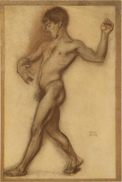 Franz von Stuck, 'Male Nude Study I', ca. 1894