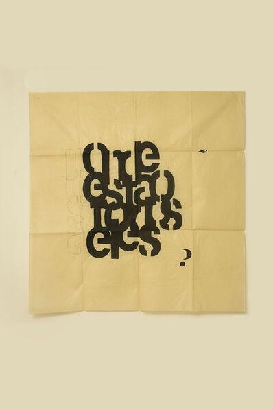 Guillermo Daghero, 'Onde estao todos eles?', 2020