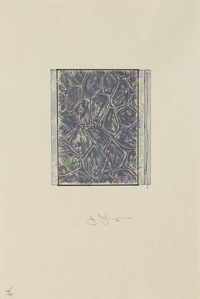 Jasper Johns, 'Within', 2006