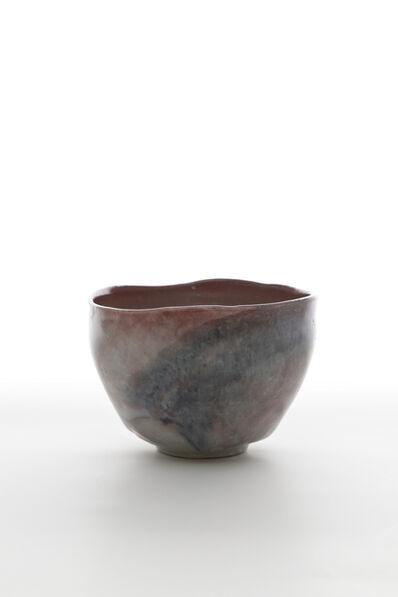 Shin Fujihira, 'Cinnabar Tea bowl', 2009
