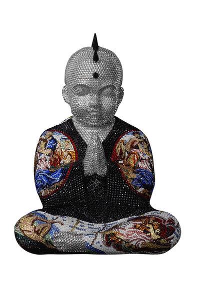 Metis Atash, 'Punkbuddha Head In The Clouds', 2021