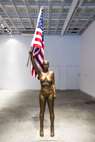Natalie White, 'Sister of Liberty', 2016