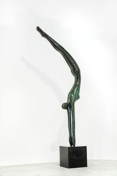 Jill Berelowitz, 'The Diver, 2019. Inspired by 'Diving Girl' sculpture created for the 2012 London Olympic Games', 2019