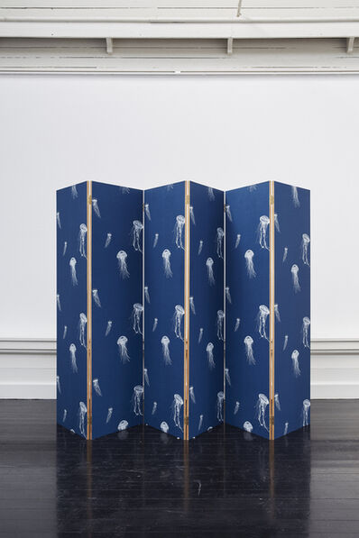 Cathrine Raben Davidsen, 'Sea Jelly Folding Screen', 2019