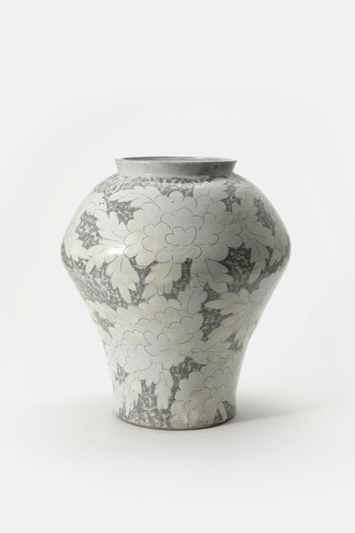 Huh Sangwook, 'Buncheong Moranmoon Jar', 2018