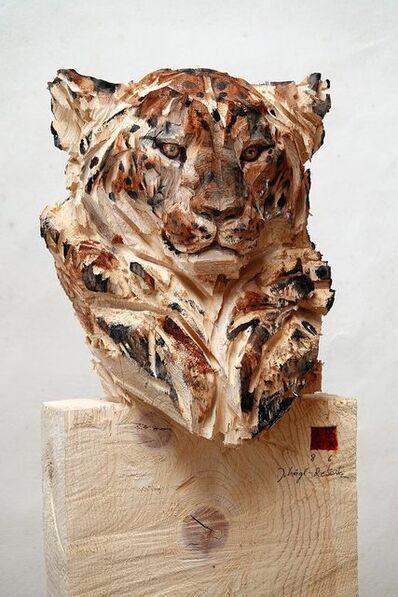 Jürgen Lingl-Rebetez, 'Buste de Léopard', 2019