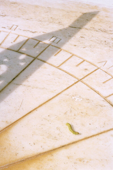 Rocco Venezia, 'Sundial With Caterpillar', 2018