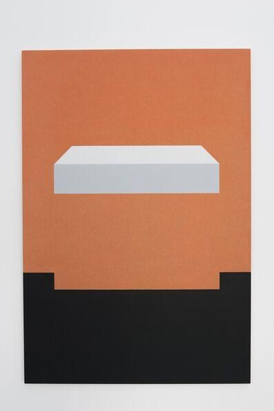 Elodie Seguin, 'Dos au mur', 2017