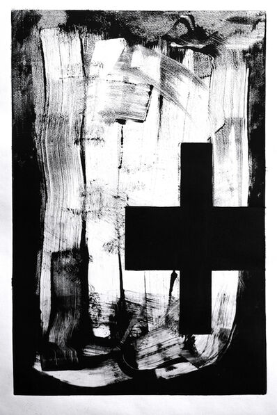 Jaime Poblete, 'UNTITLED (monotype)', 2020
