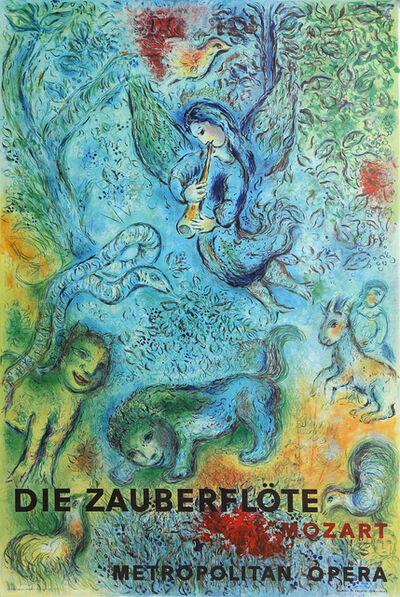 Marc Chagall, 'Metropolitan Opera, The Magic Flute', circa 1970
