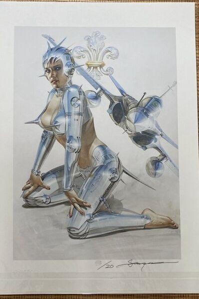 Hajime Sorayama, 'RAFALE ', 2017