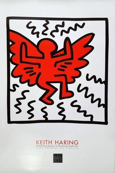Keith Haring, 'The Keith Haring Altarpiece: An AIDS Memorial Chapel Project', 1990