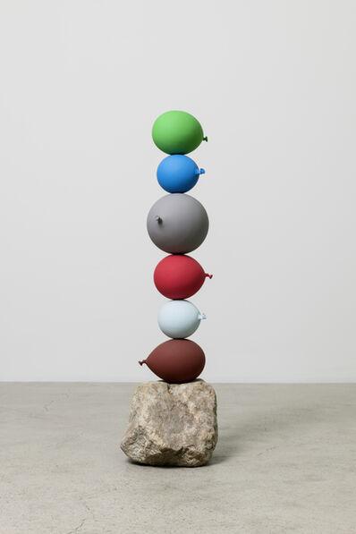 Gimhongsok, 'Untitled (Short People) 6 balloons', 2018