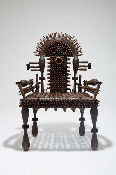 Gonçalo Mabunda, 'The Benevolent Throne', 2020