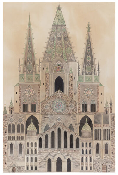 Fredrik Söderberg, 'Cathedral ', 2018