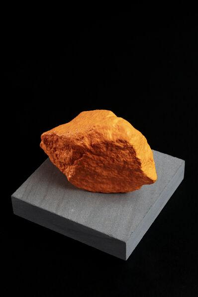 Ugo Rondinone, 'Small Orange Mountain', 2016