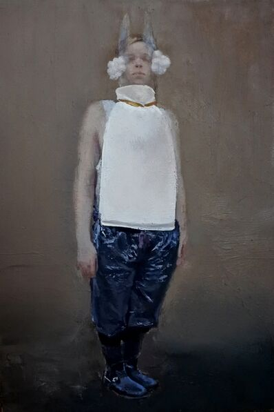 Teodora Axente, 'Charles in white', 2017