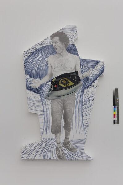 Jim Shaw, 'Dream Object (Irregularly Shaped Canvas: Angry Daniel)', 2013