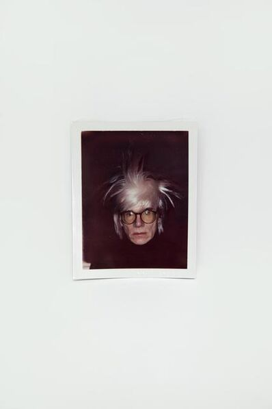 Andy Warhol, 'Self-Portrait in Fright Wig', 1986