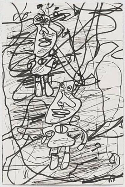 Jean Dubuffet, 'Dessin Bonpiet Beau Neuille', 1982