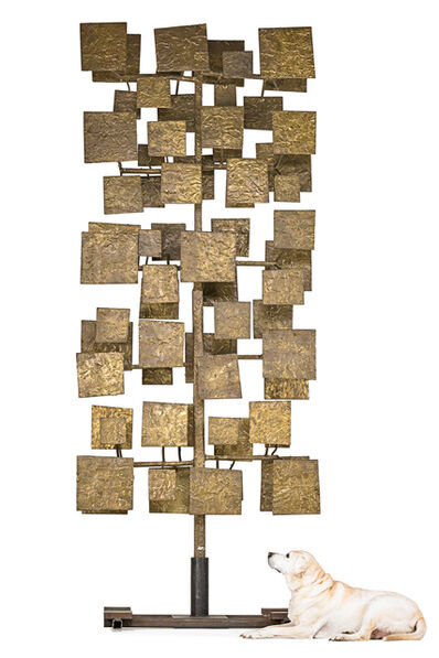 Harry Bertoia, 'Monumental Sculpture Screen from a set of ten executed for the First National Bank of Miami', 1959