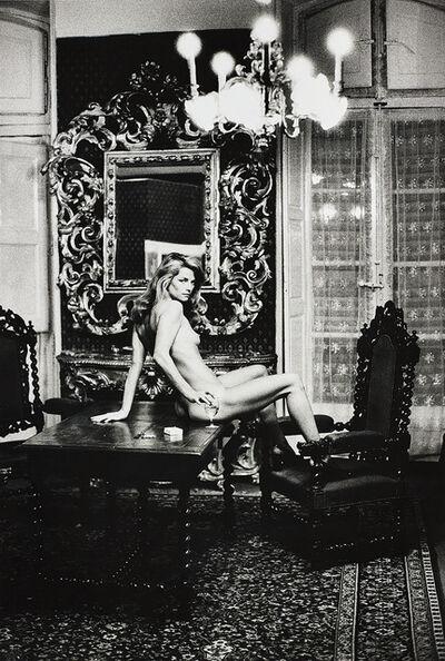 Helmut Newton, 'Charlotte Rampling, Arles', 1973