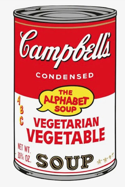 Andy Warhol, 'Vegetarian Vegetable Soup F.S. II 56', 1969