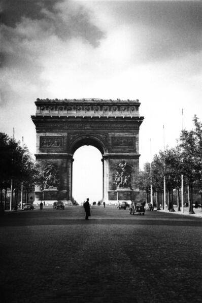 Fred Maroon, 'Arc de Triomphe', 1950