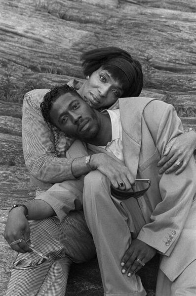 Chantal Regnault, 'Pepper & Tommie LaBeija, Central Park', 1989