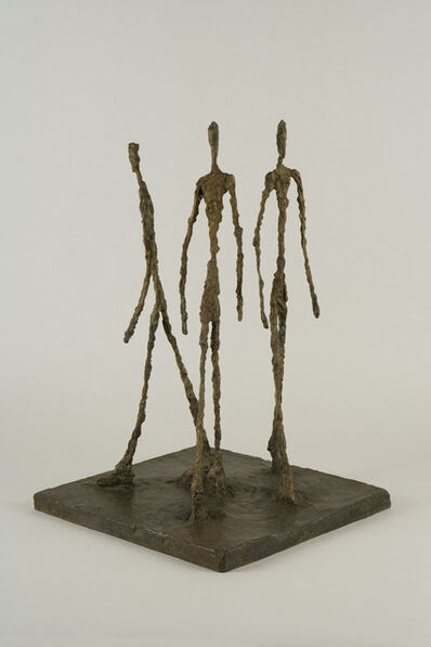 Alberto Giacometti, 'Three Men Walking', 1948