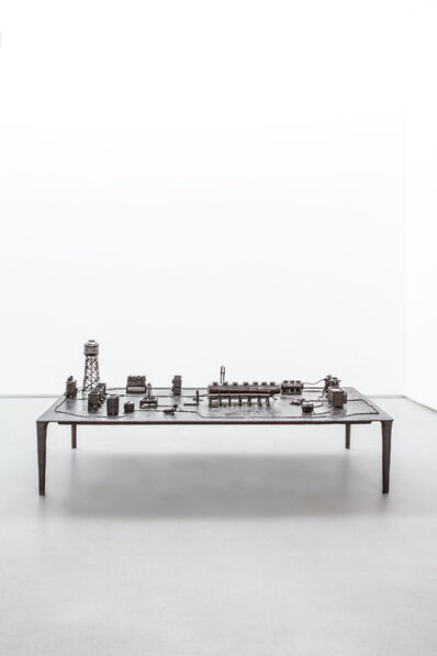 Atelier Van Lieshout, 'Technocrat Bronze Coffee Table', 2007