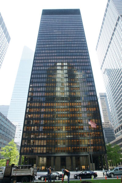 Ludwig Mies van der Rohe, 'Seagram Building', 1954-1958