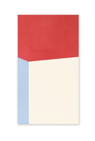 Jeff Kellar, '2 Stacked Blocks Red Yellow Blue '